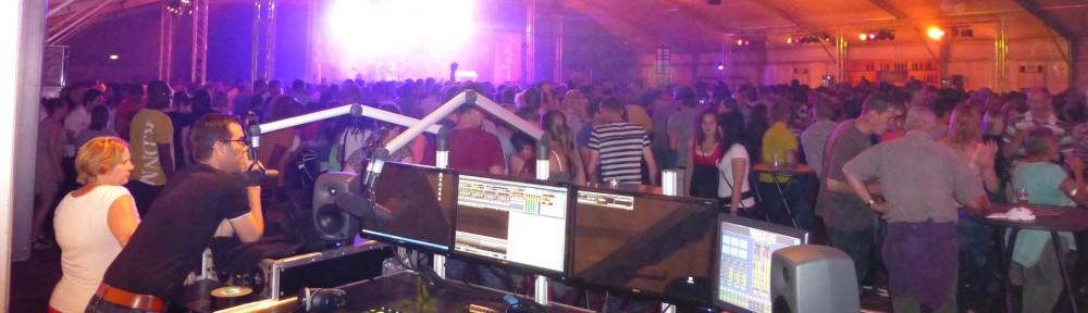 Live-Radio tijdens evenementen