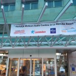 mobiele radiostudio entree van hotel artiestenreis radio continu