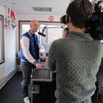 Hart van Nederland bij mobiele radiostudio