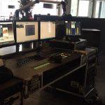 mobiele radio set voor radio continue in Bonte Wever
